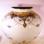 Nippon Wall Vase or Wall Pocket