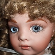 Artist Bru Jne 9 Doll Blue Eyes Older Clothes