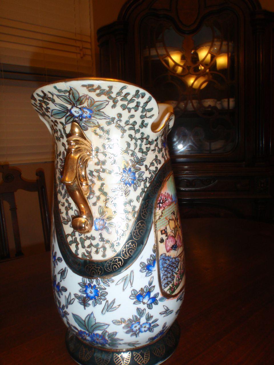 Made In China Royal Satsuma Vase From Rlreproshop On Ruby Lane