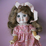 Kestner JDK 221 Googly Bisque Head Toddler Doll
