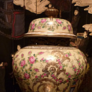 Chinese Porcelain And Bronze 1897 Jar