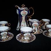 Limoges Chocolate Pot Cup and Saucer Set