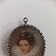17th  century portrait of Queen