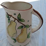 Pear Milk Pitcher