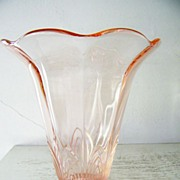Large Pink CG  Glass Vase