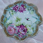 Gorgeous Hand Painted Porcelain Bowl