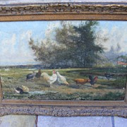Antique Duck Painting - can anyone tell the artist??