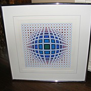 Modern Op Art Geometric