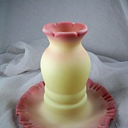 Burmese Glass Fairy Lamp