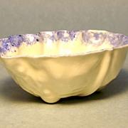 Porcelain leaf form dish