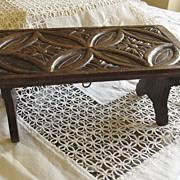 Small Victorian Oak Folding/Portable Stand?