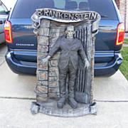 Possible Frankenstein Rubber Movie Sign Please Help Identify
