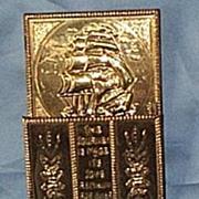 Brass Letter Holder, 30's