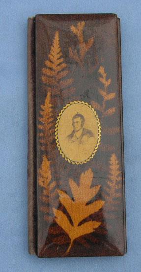 Fernware Needle Case,Victorian, Robert Burns