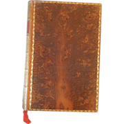 The Complete Works of Alfred Lord Tennyson, Full tree calf leather, Victorian