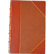 The Oxford Book of English Verse, 1250-1900, First Edition, 1912