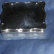 Silver, Fitted, Jewelry Box, Edwardian