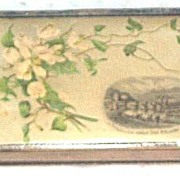 Mauchline Style Birthday Book, Victorian