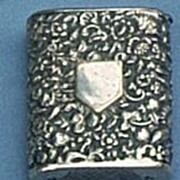 Silver Match Safe or Vesta, Victorian