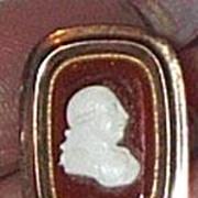 REDUCED Georgian Cameo Brooch of George III