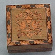 Sorrento Stamp Box, Ca 1913