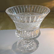 Cut crystal vase or champagne cooler