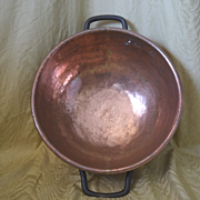 Copper soap laundry kettle iron handles