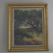 Northern California landscape pastel painting by Kitty Wallis