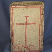 Roman Catholic ceramic Retablos priests & nuns South American 1800's