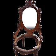 Walnut Victorian Renaissance Revival Chair