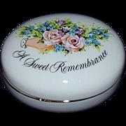 Avon 1982 Valentine Sweet Remembrance Trinket Box  Japan