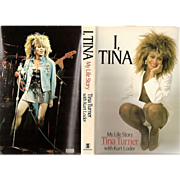 "1986 Tina Turner Autobiography ~ ""I, Tina - My Life Story"" by Tina Turner with Kurt Loder"