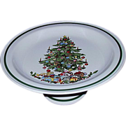 Christmas Cake Plate Stand Pedestal Base Japan