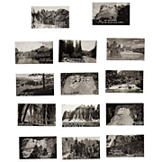 SOLD Souvenir Photo Folder, 1930s Black Hills, SD  20 B&W Miniatures
