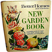 1975 Better Homes and Gardens New Garden Book - FREE Shipping in US