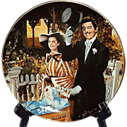 SALE Gone With The Wind Strolling in Atlanta Golden Anniversary Collector Plate Sixth Issue WS