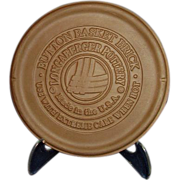 Longaberger Button Basket Brick  #31098 Retired