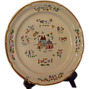 SALE International China Heartland Dinner Plate