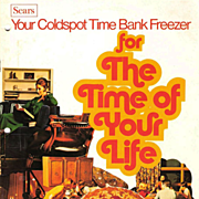 1960s Sears Coldspot Freezer Instruction Booklet  Your Coldspot Time Bank Freezer