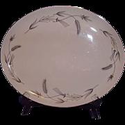Taylorton American Fine China TST Platter - Silver Wheat Pattern 1959