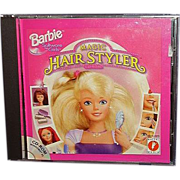 "SALE BARBIE Software ""Magic Hair Styler"" CD-Rom by Mattel Media"