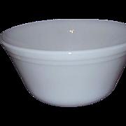 SALE Federal Glass Milk Glass Mixing Bowl Medium