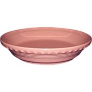 Fiesta Rose Pie Baking Plate Crimped Edge HLC USA Discontinued 2005