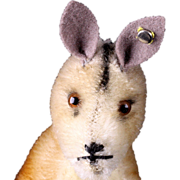 Rare Tiny Brother Steiff Male Kangoo Kangaroo Mystery Button