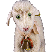 Tiniest Earliest Steiff Wool Plush Baby Lamby Lamb All ID