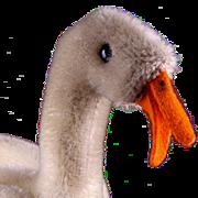Middle Sister Steiff (pre Tulla) Baby Goose Gosling Bird Earliest Model All ID