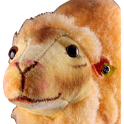SOLD Gorgeous Next to Largest Sister Steiff Wool Plush Camel Dromedary Amazing Apricot Colorin