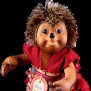 Tiny Sister Mucki Steiff Dressed Hedgehog Doll Mecki's Daughter and Macki's Sister All ...