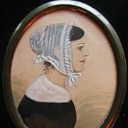 Portrait Miniature - Young Girl
