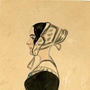 Portrait Miniature - Lady